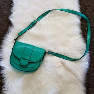A New Day Teal Crossbody Bag